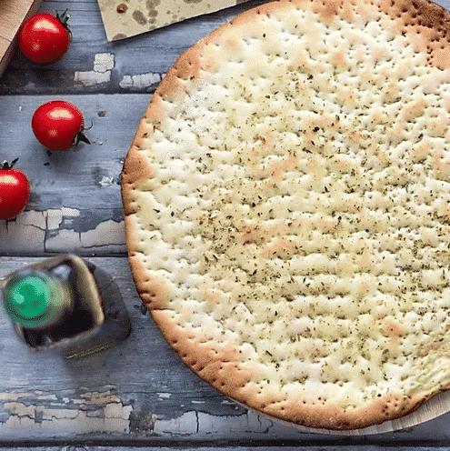 Base precotta per pizza e focaccia light