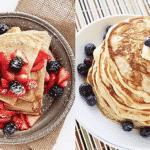 Crepe e Pancake