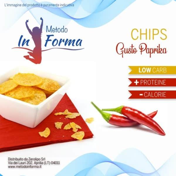 Chips di soia paprika