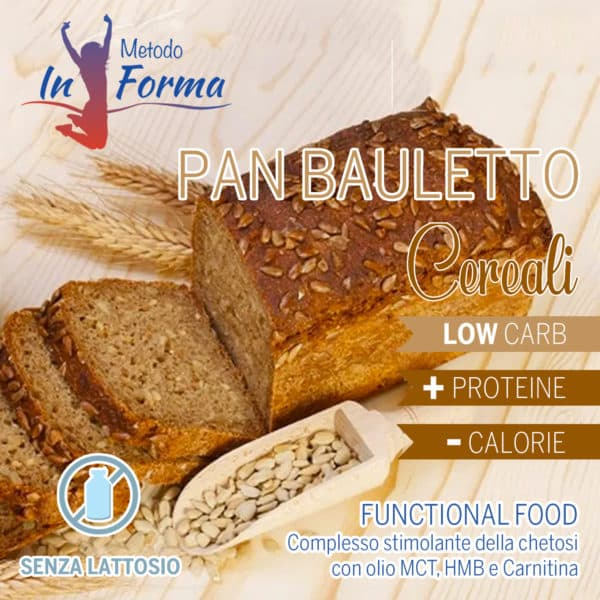 Panbauletto ai cereali Functional Food | Metodo InForma