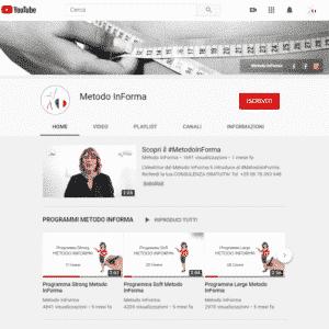 YouTube | Metodo InForma