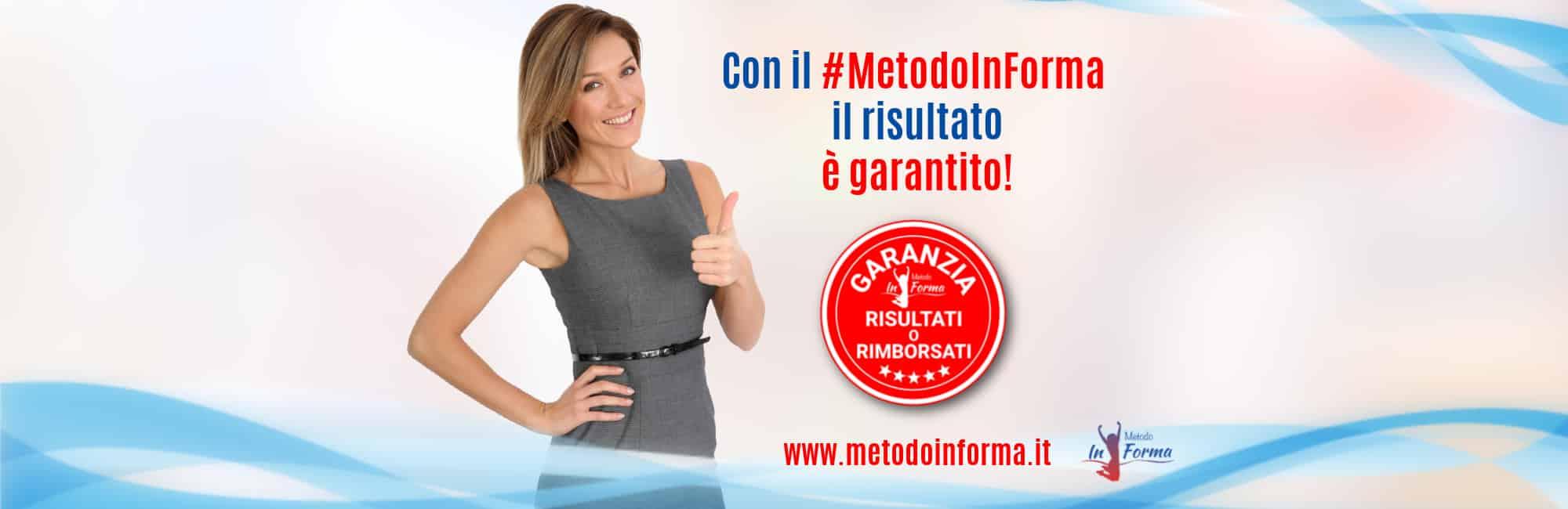 Garanzia Risultati o Rimborsati | Metodo InForma
