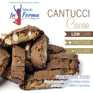 Cantucci cacao Functional Food | Metodo InForma