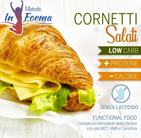 Cornetti salati Functional Food | Metodo InForma