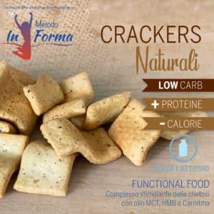 Crackers naturali Functional Food | Metodo InForma
