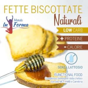 Fette biscottate naturali Functional Food | Metodo InForma