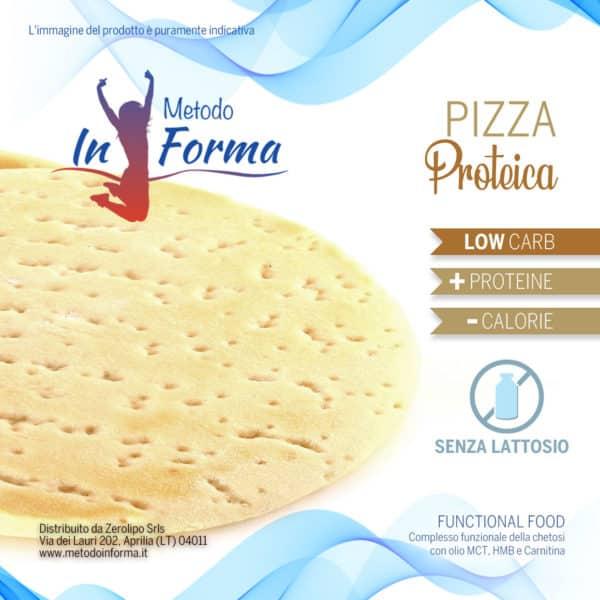 Pizza proteica Functional Food   Metodo InForma
