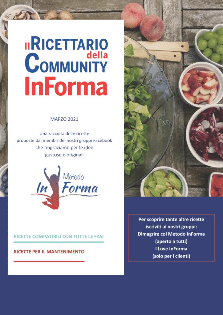 Il Ricettario della Community InForma n.3 Marzo 2021 | Metodo InForma