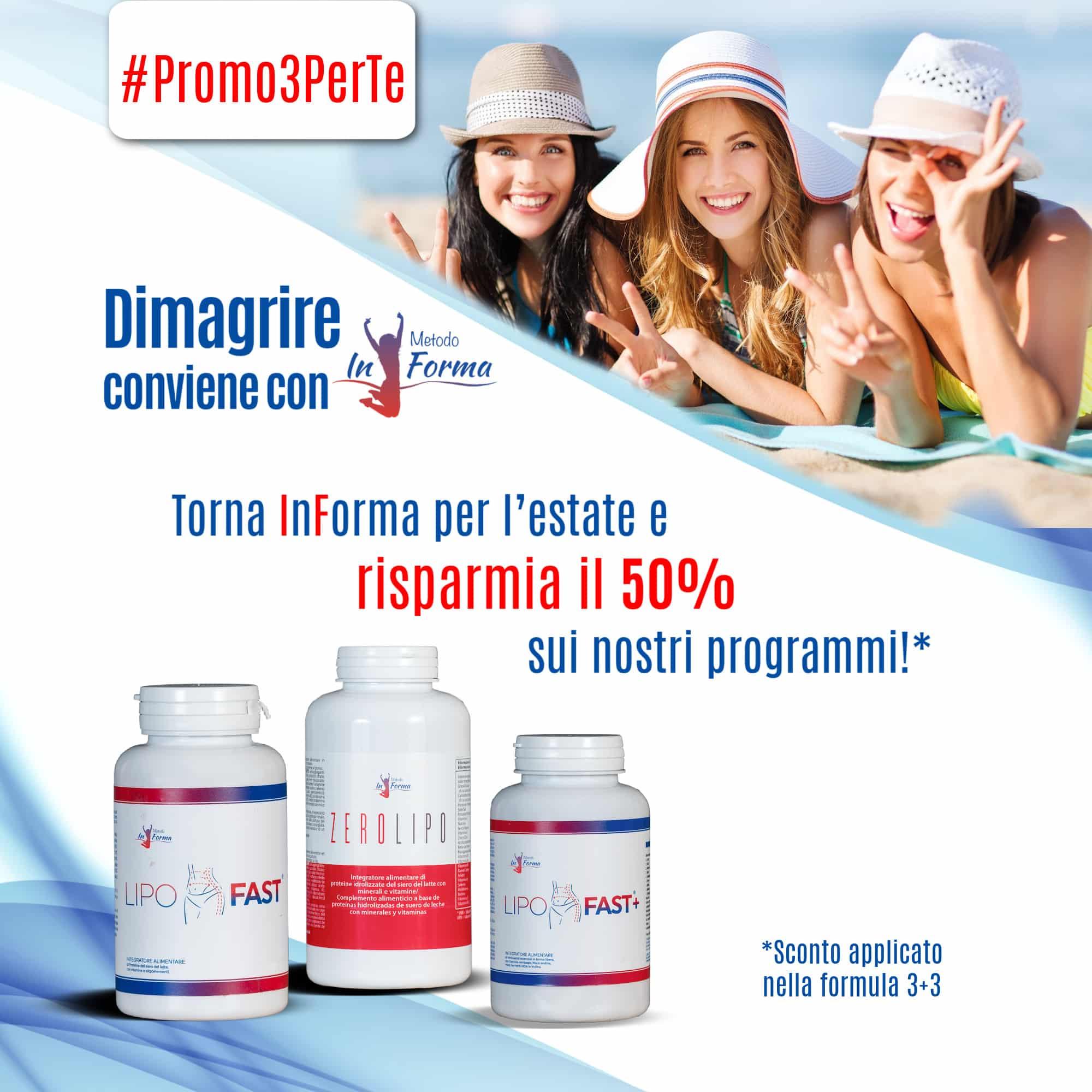 #Promo3PerTe | Metodo InForma