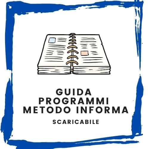 Guida ai programmi   Metodo InForma