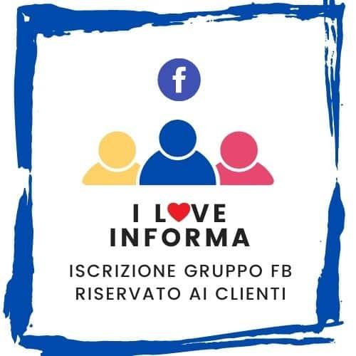 Gruppo FB I love Informa   Metodo InForma
