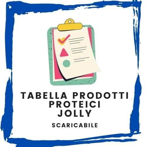 Tabella prodotti proteici Jolly   Metodo InForma