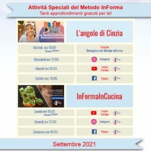 Attività InForma   Metodo InForma
