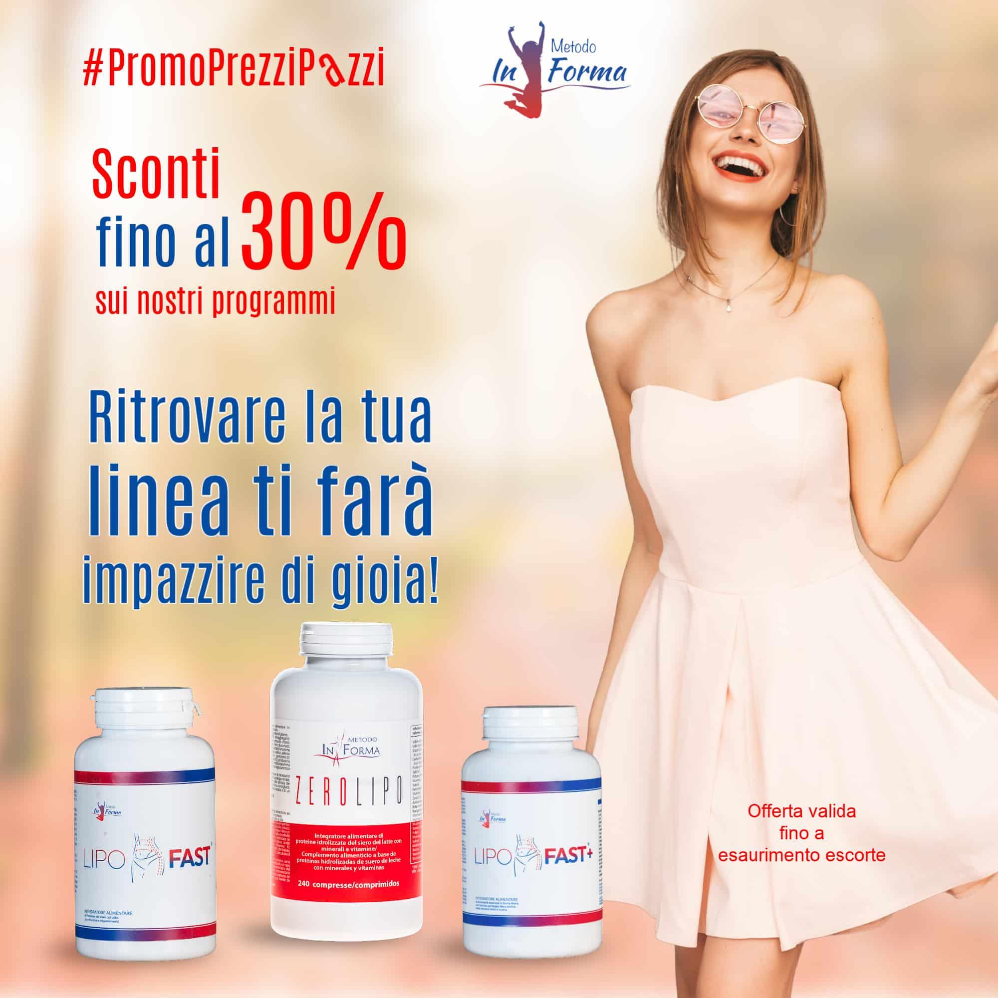 #PromoPrezziPazzi d'Autunno | Metodo InForma