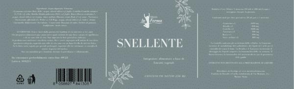 Tisana Snellente | Metodo InForma