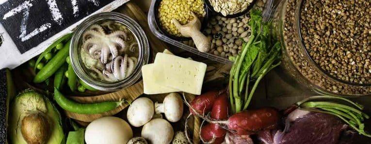 zinco negli alimenti